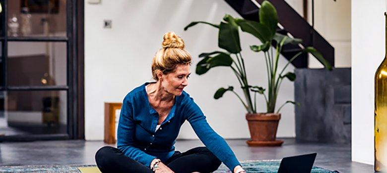 Thuis yoga en meditatie
