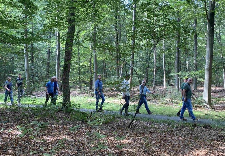 IVN wandeling Ecologie