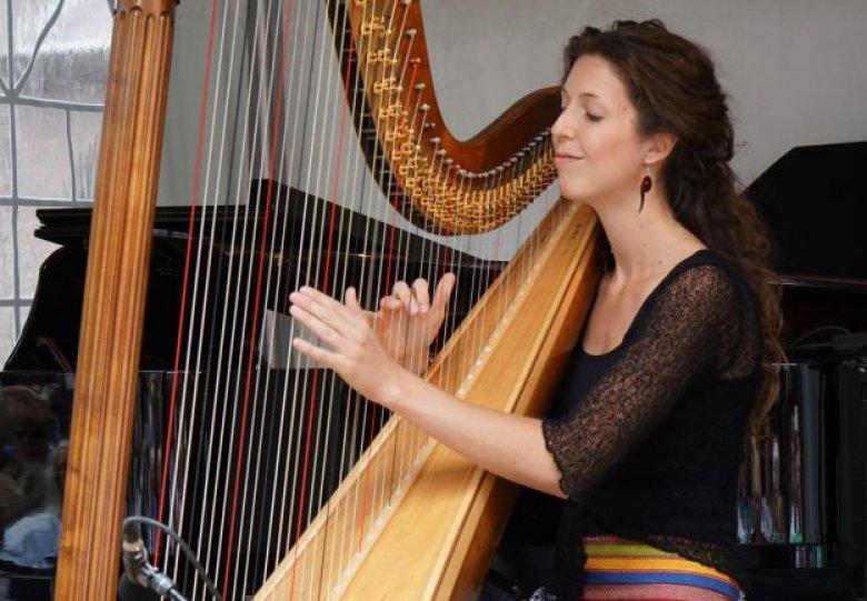 Fort Pannerden: Harpconcert op een kazemat!