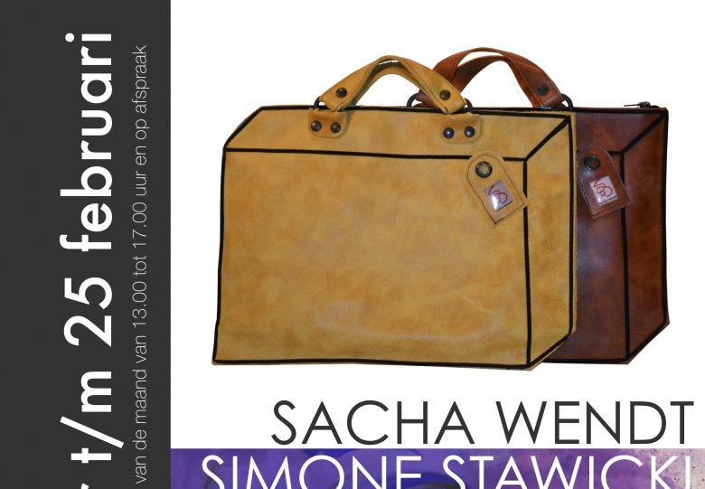Tassen van Sacha Wendt en schilderijen van Simone Stawicki
