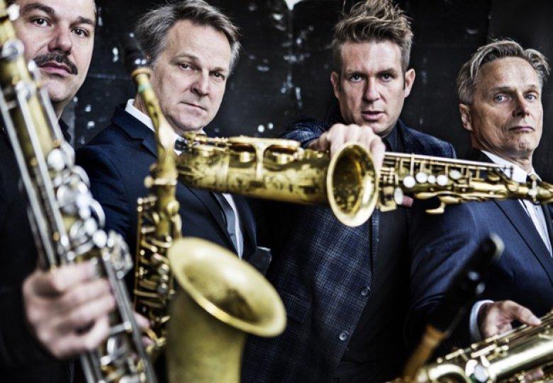 Saxofoonkwartet Artvark in de Koppelkerk