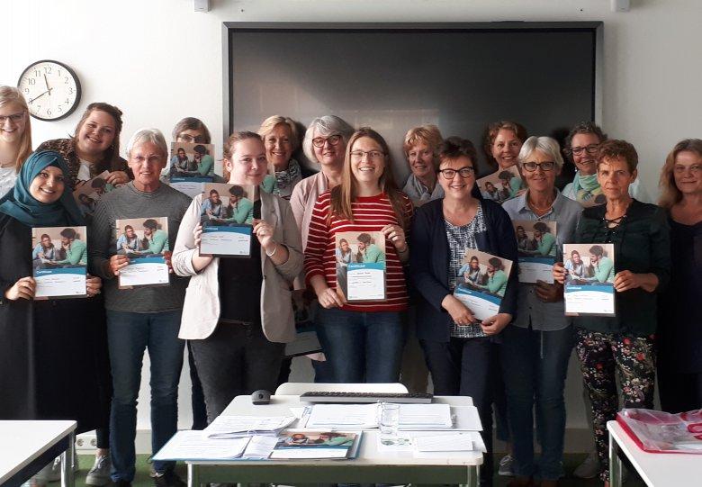 CODA Taalhuis reikt certificaten uit aan geslaagde Taalhuis Vrijwilligers