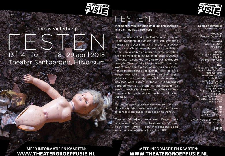 Theatergroep Fusie speelt FESTEN
