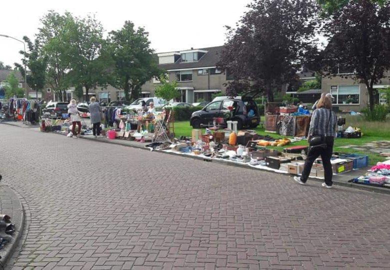 Rommelmarkt Vervoornstraat/Groeneveltstraat