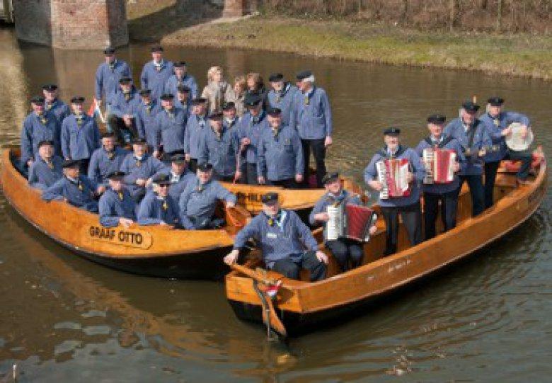 Optreden fluisterbootschippers Zutphen