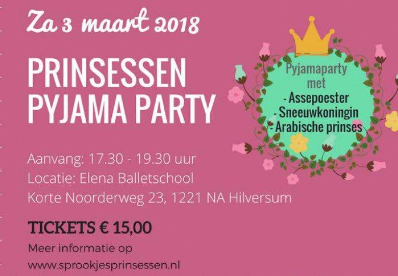Prinsessen Pyjama Party