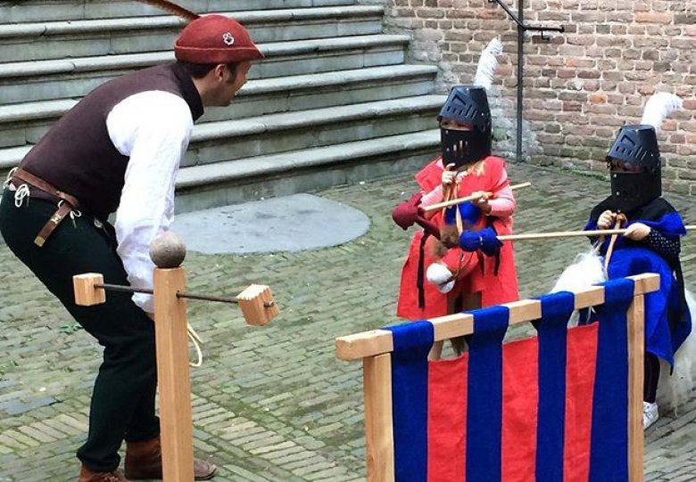 Kasteelse Klusjes Klaren met Ridder Wilg op kasteel Doorwerth