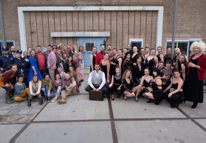 theaterconcept Showpiss door Musicalgroep Colours