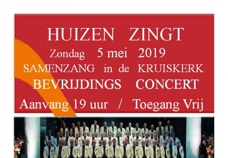 Bevrijdingsdag koor-en samenzang