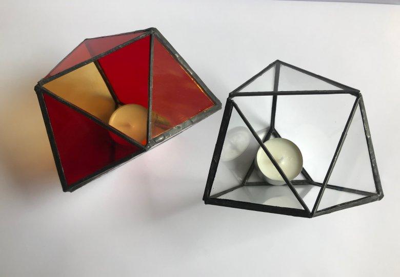 Workshop Tiffany, glas in koper (kersteditie)