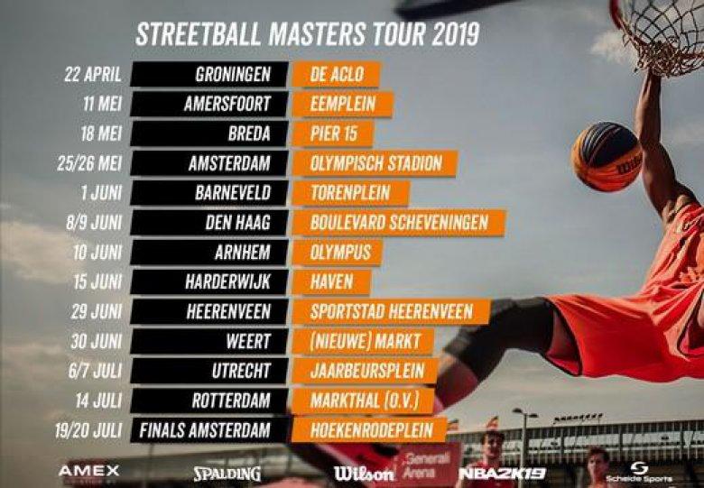 Streetball Masters 3x3 Basketball tour 2019