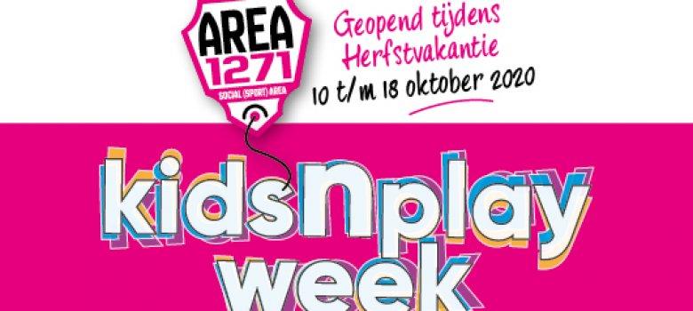KidsnPlay week | Area 1271 Huizen