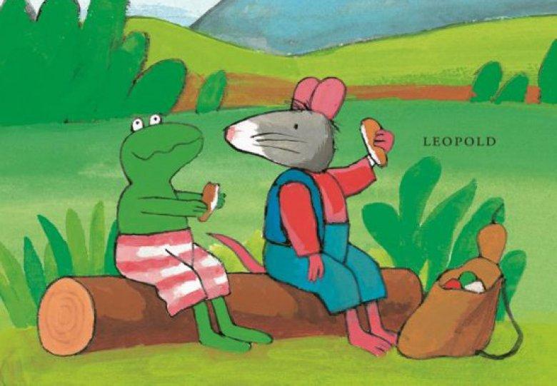 kikker en het avontuur