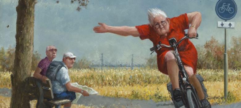 Expositie Marius van Dokkum - Lachen is gezond