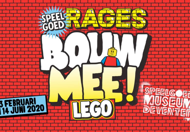 Nieuwe pop-up expositie: Speelgoedrage nr.1: LEGO Bouw mee!