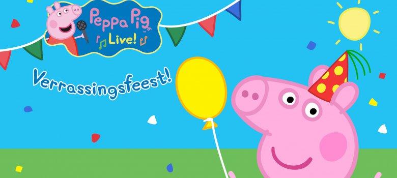 Peppa Pig – Verrassingsfeest