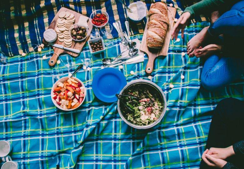 Picknicken in huis!