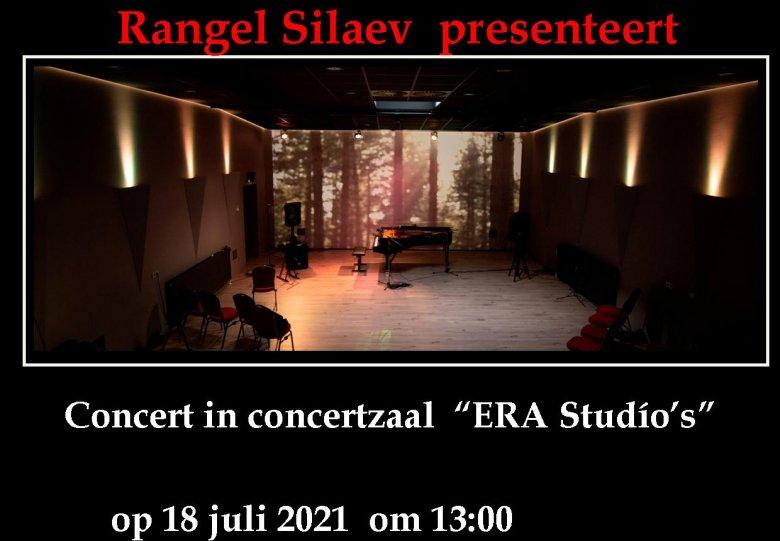 Concert van pianovirtuoos/componist/producent Rangel Silaev in Venray