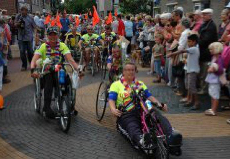Twentse Rolstoel4daagse Delden met NK handbiken