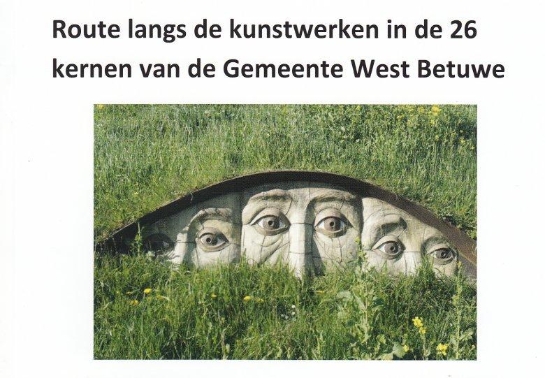 Route langs de openbare kunstwerken in West Betuwe