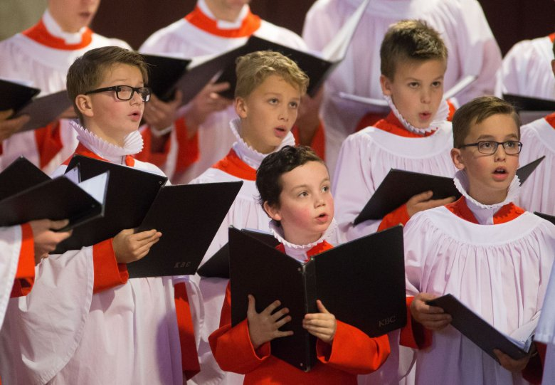 Choral Evensong gezongen door het Kampen Boys Choir