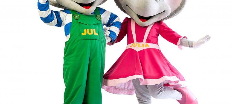 Beleef Jul's en Julia's avonturen thuis