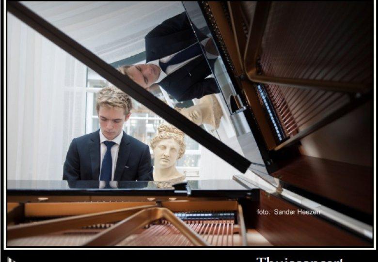 Vaderdagconcert van pianovirtuoos Rangel in Venray