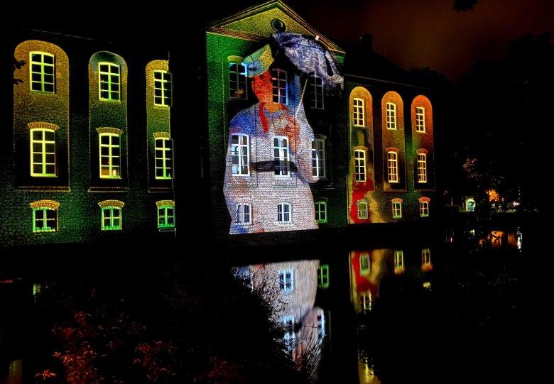 Lichtkunstfestival Enchanted Gardens