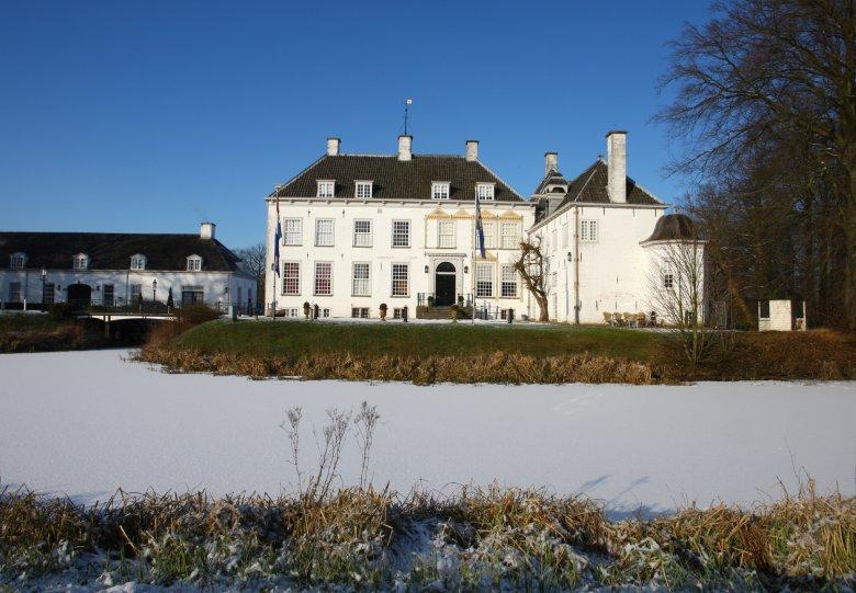 Winter op landgoederen De Voorst en 't Velde