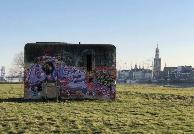 Kunstproject: Onthulling van de bunker