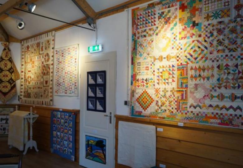 Patchwork en Quilt-tentoonstelling