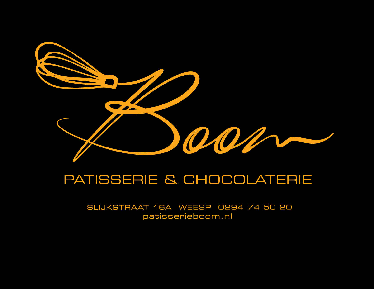 Patisserie en chocolaterie Boom